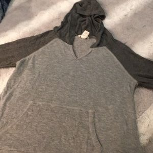 Grey half sleeved shirt size small